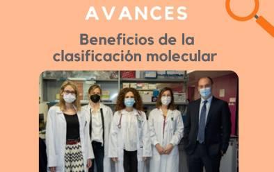 Beneficis de la classificació molecular en càncer de mama avançat hormonodepentent