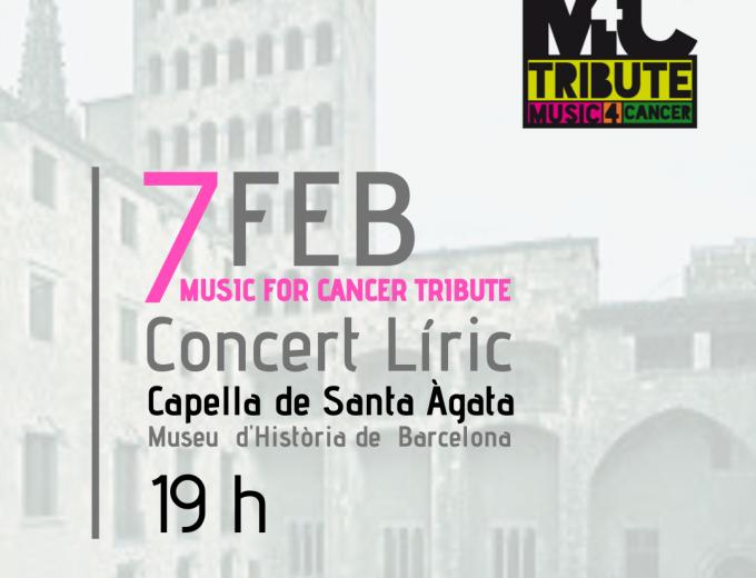 IV Edición del Music for Cancer Tribute